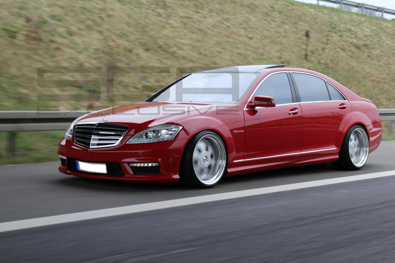 Mb exotenforum sonderkarossen umbauten tuning rotsucht for Bob ross mercedes benz